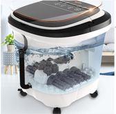 足浴盆全自動洗腳盆電動按摩加熱泡腳桶足療機器家用恒溫深桶 9號潮人館