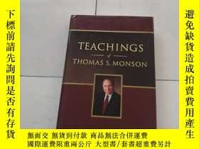 二手書博民逛書店TEACHINGS罕見of THOMAS S. MONSONY2