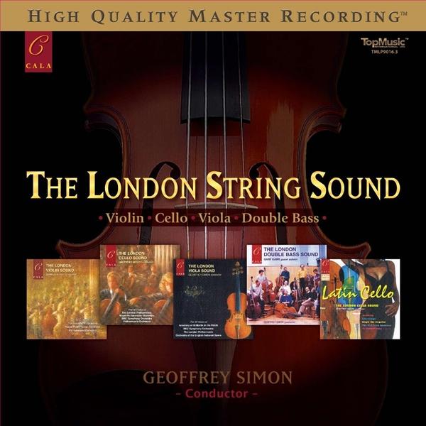【停看聽音響唱片】【黑膠LP】The London String Sound (180gm LP)