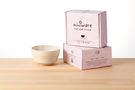 【舊金山設計品牌 Miniware】 竹纖維兒童學習餐具麥片碗單入(無吸盤)-牛奶麥片