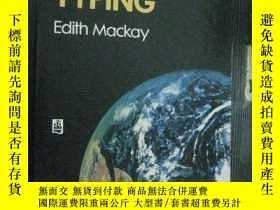 二手書博民逛書店英文原版罕見UNIVERSAL TYPING (第3版)通用打字