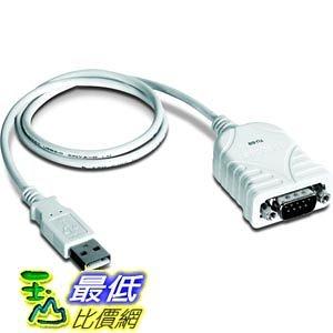 [103美國直購] TRENDnet USB 2.0 to RS-232 DB9 Serial Converter, TU-S9 轉換器  _TC3  $649