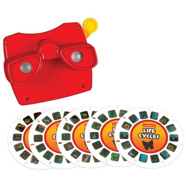 動物生命幻燈片 Lakeshore兒童幼兒教具玩具道具遊戲訓練科學觀察學習X光片卡片
