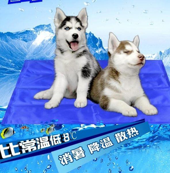寵物窩墊 - 坐墊 涼墊防水夏季泰迪狗窩貓咪涼墊降溫大型犬M號6公斤內【限時折扣好康八折】