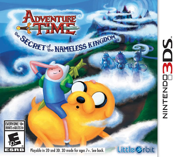 3DS Adventure Time: The Secret of the Nameless Kingdom 探險活寶:無名王國的秘密(美版代購)