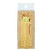 小禮堂 布丁狗 愛心造型保濕護唇膏 香氛護唇膏 潤唇膏 葡萄柚香 (黃 玩偶) 4550337-91114