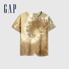 Gap男幼童 純棉紮染圓領短袖T恤 683900-紮染