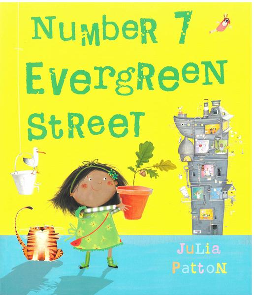 【麥克書店】NUMBER 7 EVERGREEN /英文繪本《主題: 環境保護.共融.友誼》