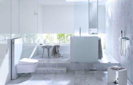 【麗室衛浴】瑞士 GEBERIT AquaClean Sela  懸吊式電腦馬桶 (含埋壁式水箱及沖水面板)