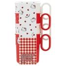 【震撼精品百貨】Hello Kitty 凱蒂貓~HELLO KITTY 4入塑膠水杯(300ML) 日本製 #49243
