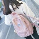 後背包書包女正韓原宿高中學生百搭簡約雙肩包校園學院背包【快速出貨】