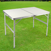 LIFECODE《009》長90cm鋁合金折疊桌(提箱型)