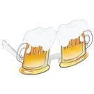 啤酒杯眼鏡1入