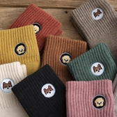 襪子女 雪地襪子女中筒秋冬季加厚款加絨可愛日系純棉保暖潮ins毛巾長襪