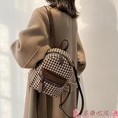 後背包日系小包包女2021新款潮韓版時尚學生書包休閒百搭後背包校園背包 芊墨 新品