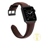 iwatch蘋果手錶錶帶適用Apple Watch牛皮腕帶【雲木雜貨】