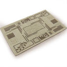 范登伯格 綠洲★大地系圈毛踏墊(內附止滑網)-秋葉50x80cm