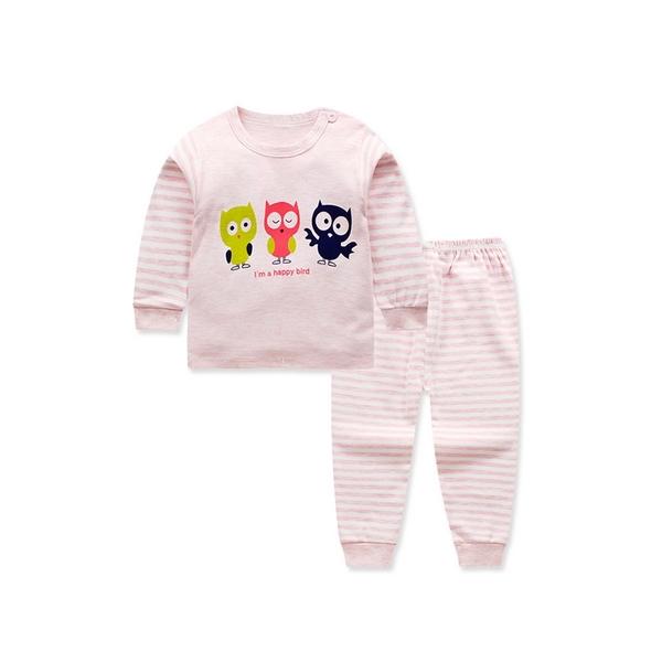 居家套裝 兒童睡衣 薄長袖套裝 寶寶居家服 88020