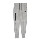 Nike 長褲 NSW Tech Fleece Pants 灰 黑 女款 縮口褲 運動休閒 【ACS】 CW4293-063