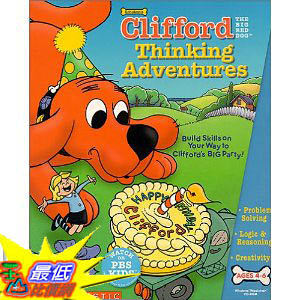 [美國直購 ShopUSA] Clifford The Big Red Dog Thinking Adventures by Scholastic $654