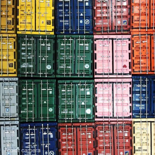 《7color camera》現貨 工業風 LOFT 貨櫃 面紙盒 紙巾盒 工業風 創意 生活