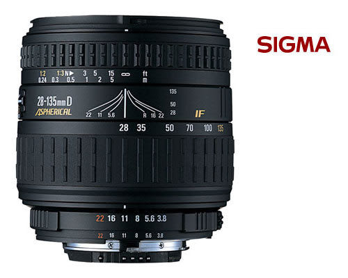SIGMA 28-135mm F3.8-5.6 Macro 鏡頭 (免運 恆伸公司貨一年保固 ) SONY 相機用