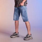 舒適牛仔短褲【S-9916】(ROVOLETA)