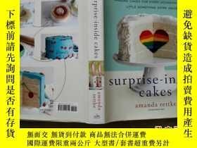 二手書博民逛書店Surprise-Inside罕見Cakes 糕裏的祕密和驚喜Y