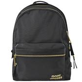 【新進品牌 獨家價】MARC JACOBS 馬克賈伯 TREK PACK 大款 尼龍雙層後背包.黑