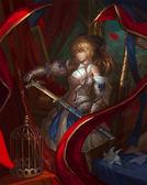 【漫研所】(預購)fate 歐皇 saber 3D立體畫-吾王持劍 含畫框(限量品)※請勿使用超商取貨