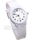 MRUIKA 時尚數字 A2021白 簡單腕錶 防水手錶 數字錶 男錶 女錶 學生錶 兒童手錶 中性錶