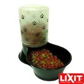 金德恩 美國製造 LIXIT中大型貓狗雙面可用飲水餵食器1500cc