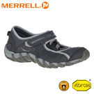 【MERRELL 美國 女 Waterpro Pandi 2 水陸兩棲鞋《黑》】034298/輕量涼鞋/溯溪/瑪莉珍鞋
