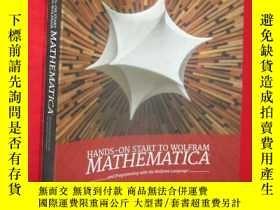 二手書博民逛書店Hands-On罕見Start to Wolfram Mathe