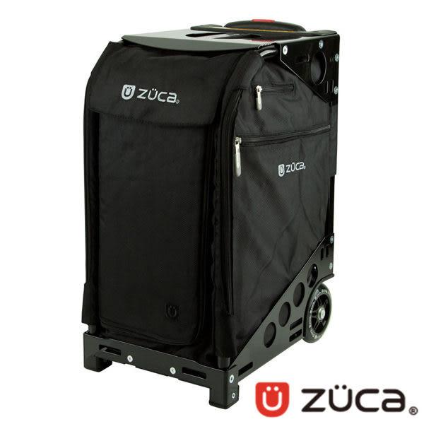 ZUCA Pro Travel 商務行李箱 登機箱 ZPT320 (可坐式 / 可爬樓梯/輕巧/拉桿 )/黑布/黑框