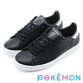 Pokémon 寶可夢復古綁帶運動休閒鞋-伊布黑