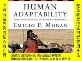 二手書博民逛書店Human罕見Adaptability-人類適應性Y436638 Emilio F. Moran Routle