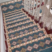 樓梯踏墊歐式樓梯踏步墊實木樓梯地毯免膠自粘墊子防滑地墊旋轉樓梯家用