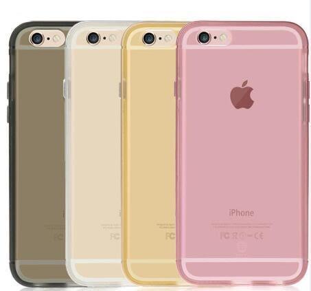 [24hr 火速出貨] 蘋果 iphone 6s plus 磨砂流金半透明手機殼 手機殼 軟殼 tpu 金屬 玫瑰金