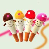 毛絨玩具 - 卡通動物蘑菇棒槌毛絨玩具捶敲背按摩棒結禮品禮物【韓衣舍】