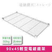 探索生活-鐵架專用-90x45cm輕型電鍍網片