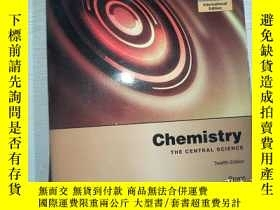 二手書博民逛書店Chemistry:罕見The Central Science Twelfth Edition[Y198833
