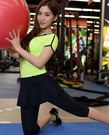 新款顯瘦運動防走光瑜伽服三件套裝BS5583『伊人雅舍』