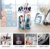 360度旋轉桌面化妝品小物收納盒