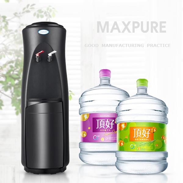 頂好 麥飯石涵氧桶裝水20L X 10瓶 + 鹼性離子桶裝水20L X 10瓶 + 立式溫熱飲水機