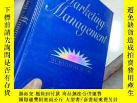 二手書博民逛書店Marketing罕見Management THE MILLENNIUM EDITIIN--營銷管理千禧年版Y