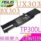 ASUS C31N1339 電池-華碩 BX303,BX303UA,BX303LA,TP300L,TP300LD,TP300LJ,3ICP7/55/90,OB200-00930000M