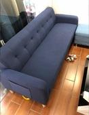 北歐簡易小戶型單雙人三人沙發現代簡約沙發組合咖啡廳布藝小沙發  YDL