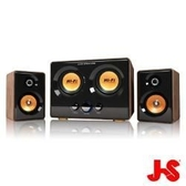 [nova成功3C]淇譽 JS JY3241 震天雷 雙低音三件式全木質多媒體喇叭