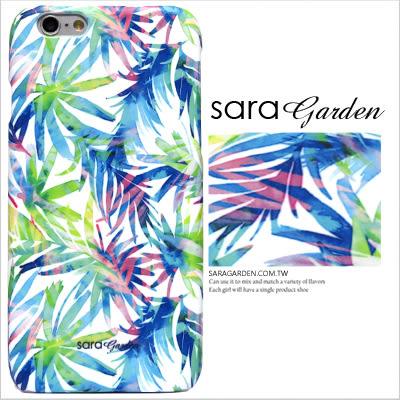 3D 客製 水彩 熱帶 葉子 藍綠 iPhone 6 6S Plus 5 5S SE S6 S7 M9 M9+ A9 626 zenfone2 C5 Z5 Z5P M5 X XA G5 G4 J7 手機殼
